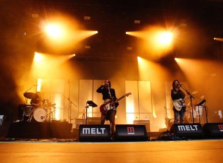 Warpaint live at Melt. 2017.