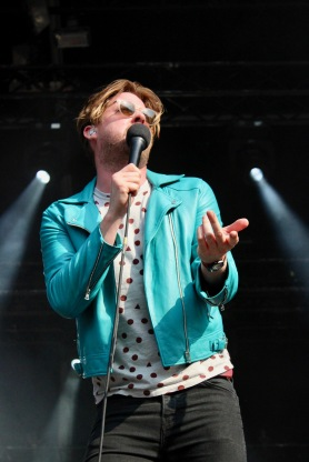 Kaiser Chiefs live at Lollapalooza. 2016.