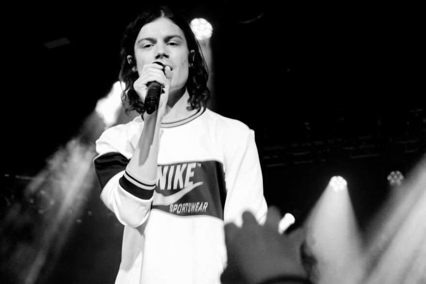 Børns live in Berlin. 2018.