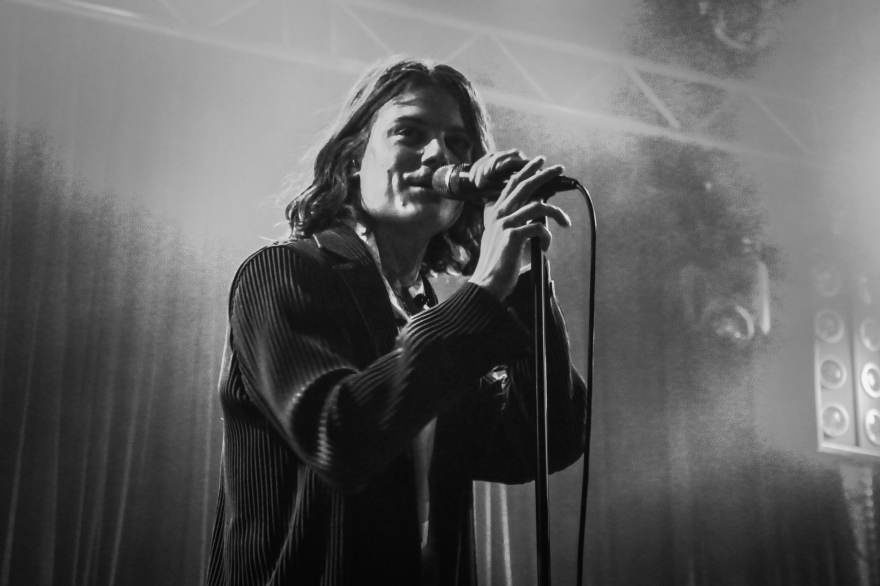 Børns live in Berlin. 2017.