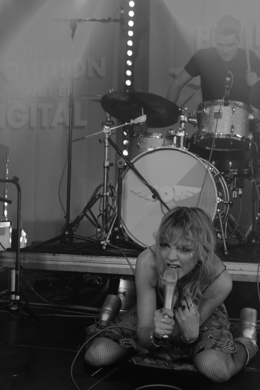 Anteros live at Flying Vinyl Festival. 2017.