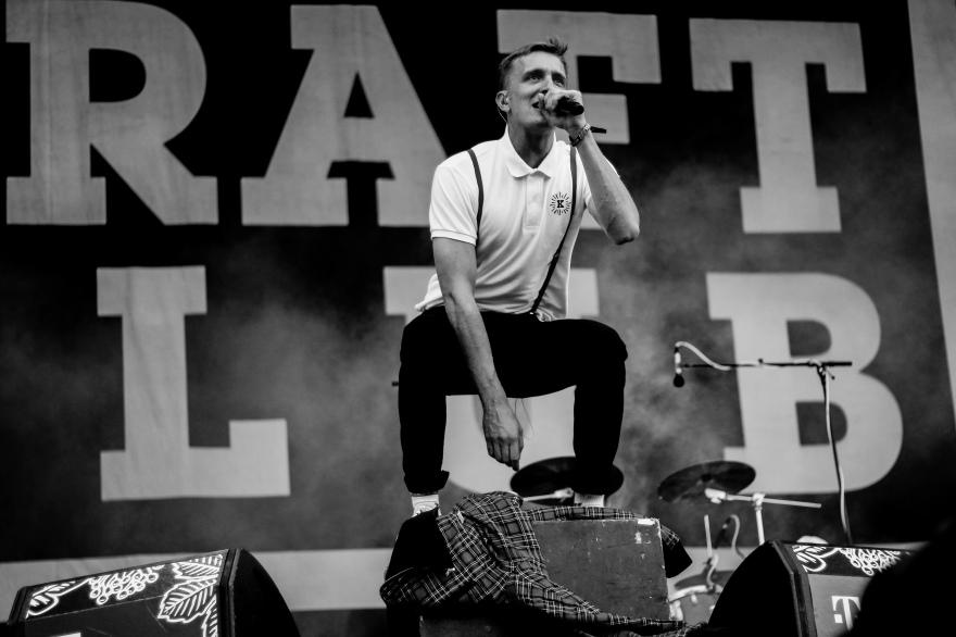 Kraftklub live @ Lollapalooza Berlin. 2019.